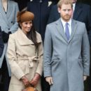 The British Royals attend Christmas Day Church Service - 400 x 600