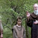 Andrew Weir as Young Hamish Campbell, James Cosmo as Campbell, James Robinson as Young William Wallace and Ralph Riach as the priest - 454 x 193