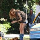 Heather Graham - On Set Of ''Judy Moody And The Not Bummer Summer'' In L.A. - September 3, 2010