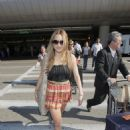 Amanda Bynes Arrives At LAX Airport In Los Angeles, June 20