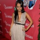 Lauren London at the premiere of Screen Gems 'This Christmas' at the Cinerama Dome on November 12, 2007 in Hollywood