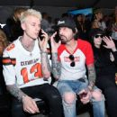 Tommy Lee attends the Monster Energy NASCAR Cup Series race at Auto Club Speedway at Auto Club Speedway on March 17, 2019 in Fontana, California - 454 x 454