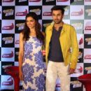 Ranbir Kapoor and Deepika Padukone : Close-up press conference to promote the the upcoming film 'Yeh Jawaani Hai Deewani' - 454 x 681