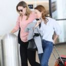 Olivia Wilde – Spotted at LAX Airport in Los Angeles