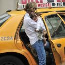 Leelee Sobieski - Entering A Cab In New York City - August 15, 2010