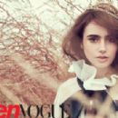 Lily Collins - Teen Vogue Magazine Pictorial [United States] (October 2011)