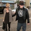Nicole Richie And Joel Madden At The Restaurant LaScala (2/13/07) - 454 x 633