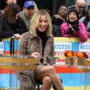 Ashley Tisdale – At the 'Access Live' show at the Rockefeller Plaza in NYC