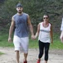 Lea Michele: during a relaxing hike at TreePeople park in Beverly Hills