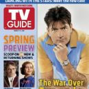 Charlie Sheen - TV Guide Magazine Cover [United States] (7 March 2011)