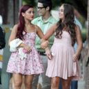 Ariana Grande celebrated her 19th birthday in style last night, June 25, at Eleven restaurant in West Hollywood