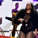 Demi Lovato Performs At 2015 Iheartradio Music Festival In Las Vegas