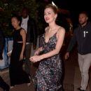 Amber Heard – Leaving a beach club in Cannes