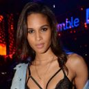 Cindy Bruna at 'La Parisienne' Party Held at the VIP Room in Paris - 454 x 682