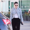 Rooney Mara – Leaving an office building in Hollywood