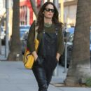 Actress Robin Tunney was spotted running errands in Beverly Hills, California on December 9, 2016 - 438 x 600