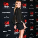 Camille Rowe – 2018 GO Campaign Gala in Los Angeles - 454 x 651