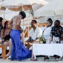 Gabrielle Union in Green Bikini at a beach in Ibiza - 454 x 311