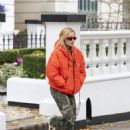 Rita Ora – Spotted leaving her home in London