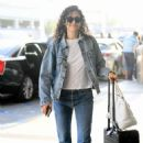 Emmy Rossum – Arrives at LAX Airport in LA - 454 x 646