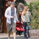 Amy Adams - Out For Dinner At Gilbert's El Indio Restaurant - July 31, 2010
