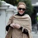 Kylie Minogue out & about in London - Jan 25 2011