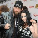 Musician Zakk Wylde arrives at the 2012 Revolver Gods Award show at Club Nokia on April 11, 2012 in Los Angeles, CA - 390 x 594