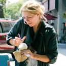 Mischa Barton Getting An Iced Coffee In Los Angeles