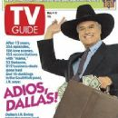 Larry Hagman - TV Guide Magazine Cover [United States] (11 June 2012)