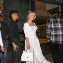 Pamela Anderson is seen in Los Angeles, California on June 16, 2018