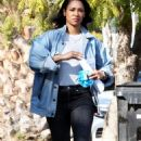 Candice Patton – house hunting in Hollywood - 454 x 753
