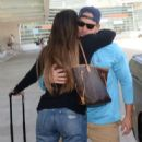 Gaby Espino at LMM airport in San Juan - 454 x 872