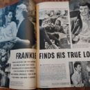 Frankie Avalon - TV and Movie Screen Magazine Pictorial [United States] (December 1959)