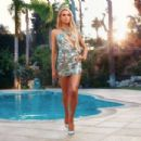 Paris Hilton – Boohoo On 2000's Inspired Collection (June 2018)