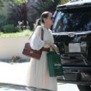 Angelina Jolie attends Labor Day with Daughters party in Santa Monica (September 02, 2019) - 454 x 303