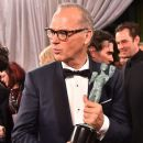 Michael Keaton-January 30, 2016-The 22nd Annual Screen Actors Guild Awards - Backstage and Audience - 388 x 600