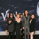 The Simmons attend the premiere of Columbia Pictures' 'Venom' at Regency Village Theatre on October 1, 2018 in Westwood, California