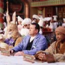 Jay Thomas, Art LaFleur and Michael Dorn in Disney's THE SANTA CLAUSE 3 The Escape Clause