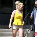 Britney Spears – Heads to a Tanning Salon in LA
