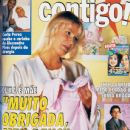 Xuxa Meneghel, Alexandre Pires, Carla Perez, Torre de Babel, Marcos Palmeira - Contigo! Magazine Cover [Brazil] (4 August 1998)