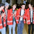 One Direction arrives in Japan