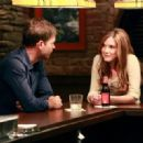 Matthew Davis As Alaric Saltzman And Sara Canning As Jenna Sommers In The Vampire Diaries