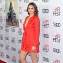 Felicity Jones – AFI Fest 2018 'On the Basis of Sex' Opening Night Premiere in LA - 454 x 681