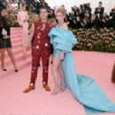 Cole Sprouse and Lili Reinhart- The 2019 Met Gala Celebrating Camp: Notes On Fashion - Arrivals - 454 x 303