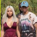 Blac Chyna and Mechie Celebrate Labor Day at a Yacht Party in Miami, Florida - September 4, 2017 - 454 x 515