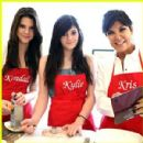 Cooking with mom and siter
