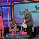 "Interview with Maite in the program ""El Gordo y la Flaca Univision"" (February 29)"
