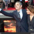 Rowan Atkinson and Sunetra Sastry - 454 x 321