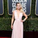 Kristen Bell At 76th Annual Golden Globe Awards - Arrivals (2019) - 400 x 600