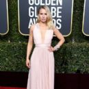 Kristen Bell At 76th Annual Golden Globe Awards - Arrivals (2019)